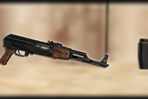 Mini Draco AK-47 [Animated]