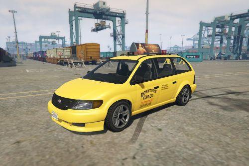 Mini Van Taxi Cab