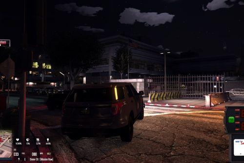Mission Row PD Exterior & Mission Row East Exterior [Ymap   FiveM Ready]