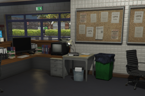 Mission Row PD interior [FiveM/YTYP/CWPROJ] Codewalker 30 Dev
