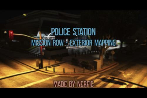 Mission Row Police Station - Exterior Modded  [FiveM | SP]