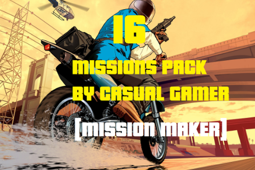 CASUAL GAMER MISSIONS PACK [Mission Maker]
