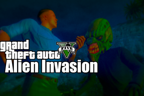 Missions with aliens from GTA Online