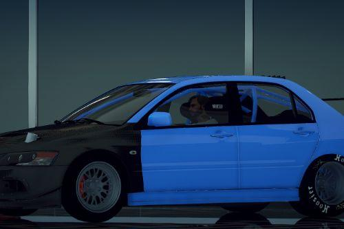 Mitsubishi Drag Evo 9 [SP / FiveM | Add-On]