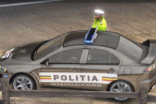 Mitsubishi EVO X Politia Romana ( NON-ELS)