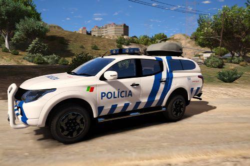 Mitsubishi L200 | Portuguese Public Security Police PSP