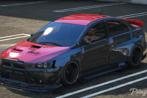 Mitsubishi Lancer Evolution X [Add-On / FiveM/ Replace | Extras]