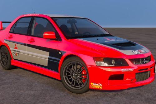 [Mitsubishi Lancer Evolution IX MR] livery