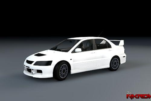 Mitsubishi Lancer Evolution IX [Template]