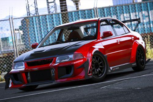 Mitsubishi Lancer Evo VI T.M.E (CP9A) [Add-On | Tuning | GSR | Evo5 | Varis | Template]