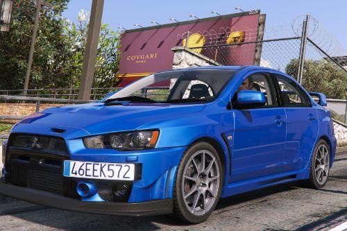 Mitsubishi Lancer Evolution X FQ-400 [Add-On / Replace | Template]