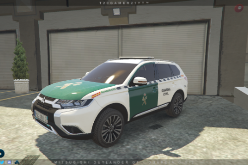 Mitsubishi Outlander GT - Guardia Civil [ELS]
