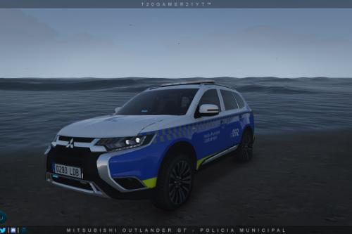 Mitsubishi Outlander GT - Policia Municipal Udaltzaingoa [ELS]
