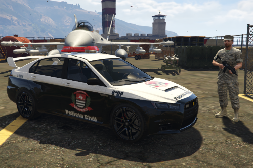 Mitsubishi - Polícia Civil - PCESP