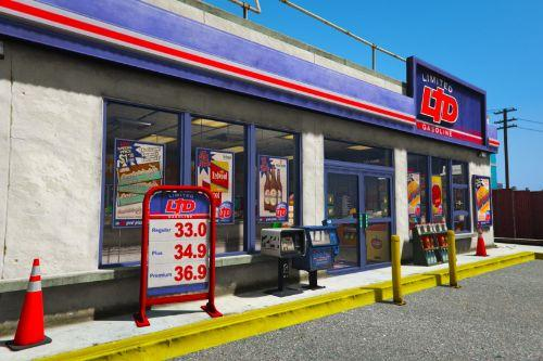 [MLO] LTD Gas Station | Rear Exit [Add-On SP / FiveM]