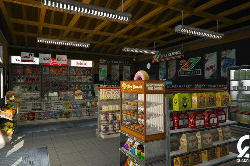 [MLO] Re-textured 24/7 Store [Add-On SP / FiveM]