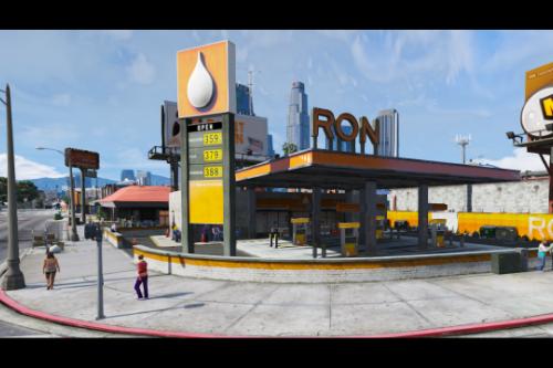 [MLO] Ron Station Davis [Add-On SP / FiveM]
