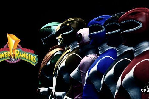 MMPR Power Rangers Pack [Add-On]