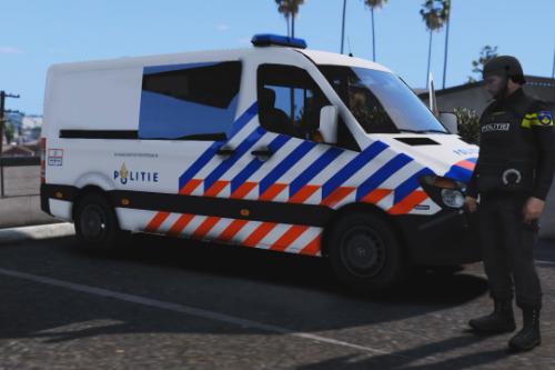 Mobiele Eenheid Mercedes Sprinter Nederlandse Politie - Mobile Unit Mercedes Sprinter Dutch Police
