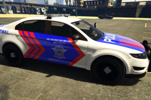 Mobil Polisi Indonesia (Indonesian Police Vehicle) - Vapid Police Interceptor