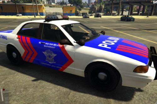 Mobil Polisi Indonesia (Indonesian Police Vehicle) - Vapid Stanier II Police Cruiser + Sheriff Cruiser