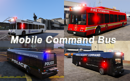 Mobile Command Bus (ELS) Add on or Replace