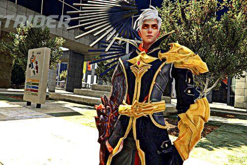 Mobile Legends Alucard Fiery Inferno [Add-on]