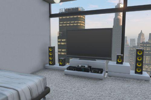 Modern Liberty City Penthouse and Rooftop Party (Liberty V) [Map Editor]