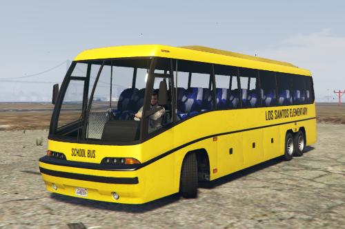 Modern School Bus Skin