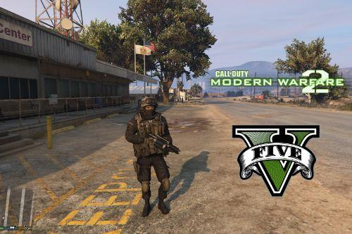 Modern Warfare 2 Shadow Company [Add-On Ped]