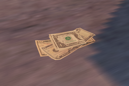Money Pickup US Dollars