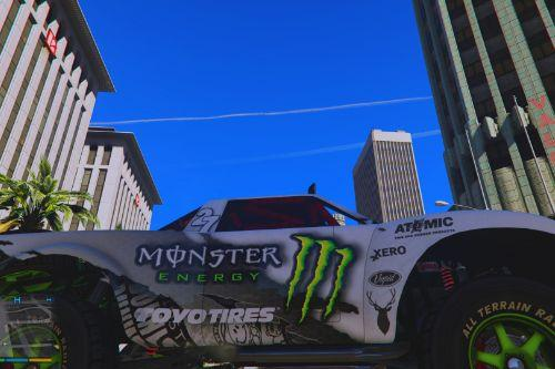 Monster Energy Trophy Truck Livery