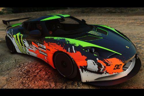 Monster Rally Livery for Lotus Evora S 2011