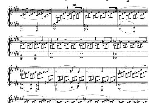 Beethoven Moonlight Sonata (Schiff) for Loading Theme