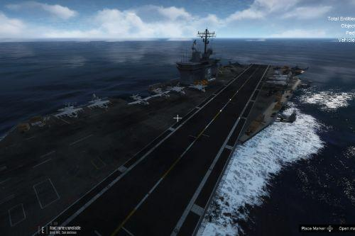 More Active Aircraft Carrier