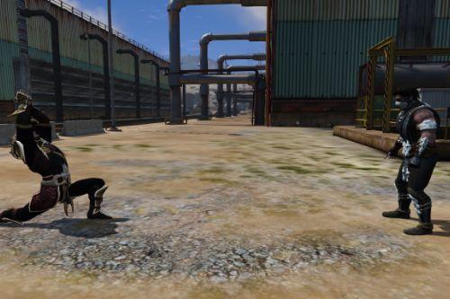 Mortal Kombat Pack [Add-On Ped]