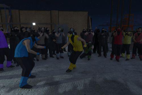 Mortal Kombat's Ninjas [Add-on Peds]