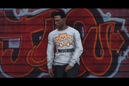 Moschino Sweatshirt 3 Bears (SP / FiveM)