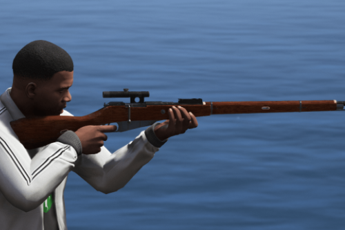 Mosin Nagant 91/30 Sniper PU [Animated]