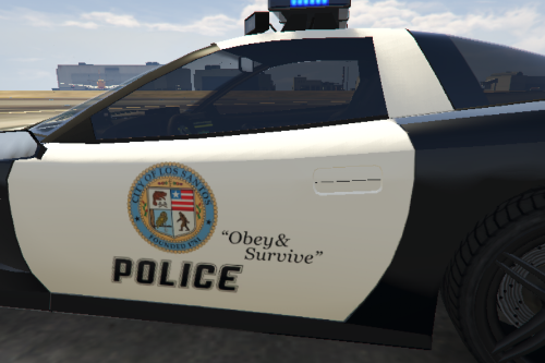 Most Wanted 2012 - Los Santos City PD Pack: Invetero Coquette CQ4 LSPD Livery