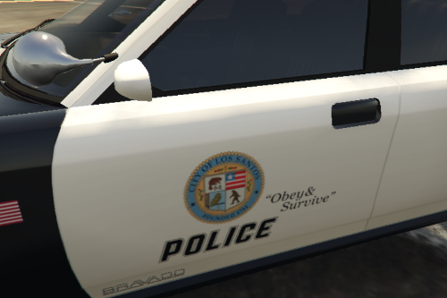 Most Wanted 2012 - Los Santos City PD Pack: LSPD Livery