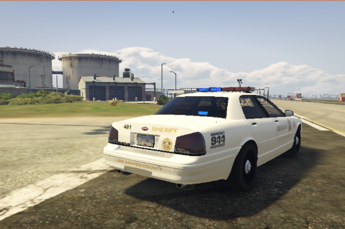 Most Wanted 2012 - Los Santos City PD Pack: Vapid Stanier Police Cruiser Sheriff Livery