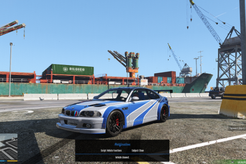 Most Wanted Handling Mod for BMW M3 E46 GTR