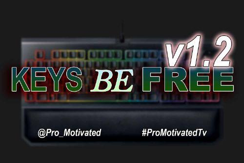 Motivated Keys Be Free