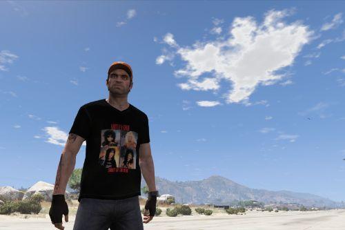 Mötley Crüe T-Shirt for Trevor (Shout at the Devil album)