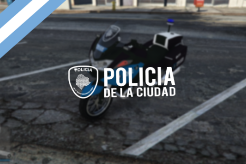 Moto BMW R1200RT Policia de la Ciudad [Add-On | Replace] Buenos Aires, Argentina