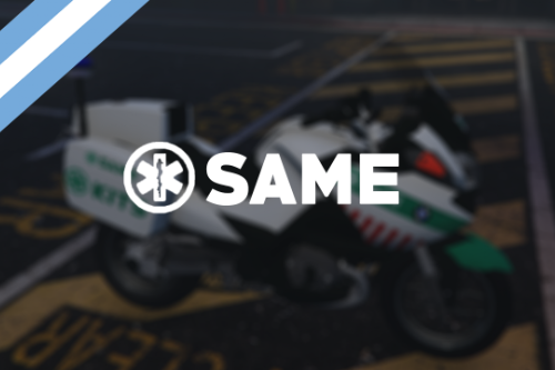 Moto BMW R1200RT SAME [Add-On | Replace] Buenos aires, Argentina - EMS  Medico