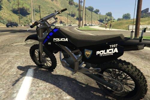 Moto Policia de Santa Fe (Argentina)