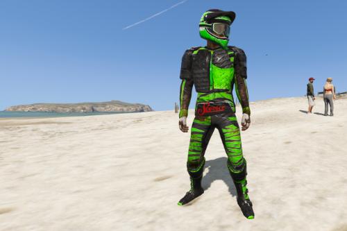 Motocross Biker Outfit [MENYOO]