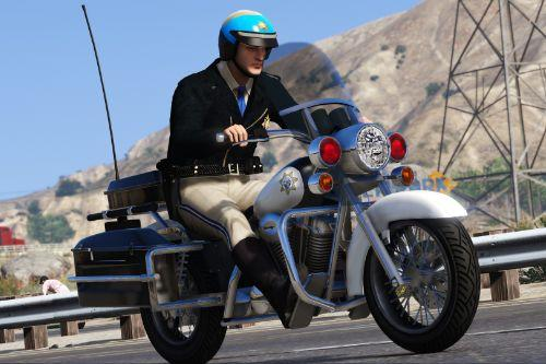 Motorcycle CHP 80s